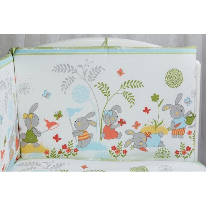 Бортик для кроватки Rabby-baby На лужайке