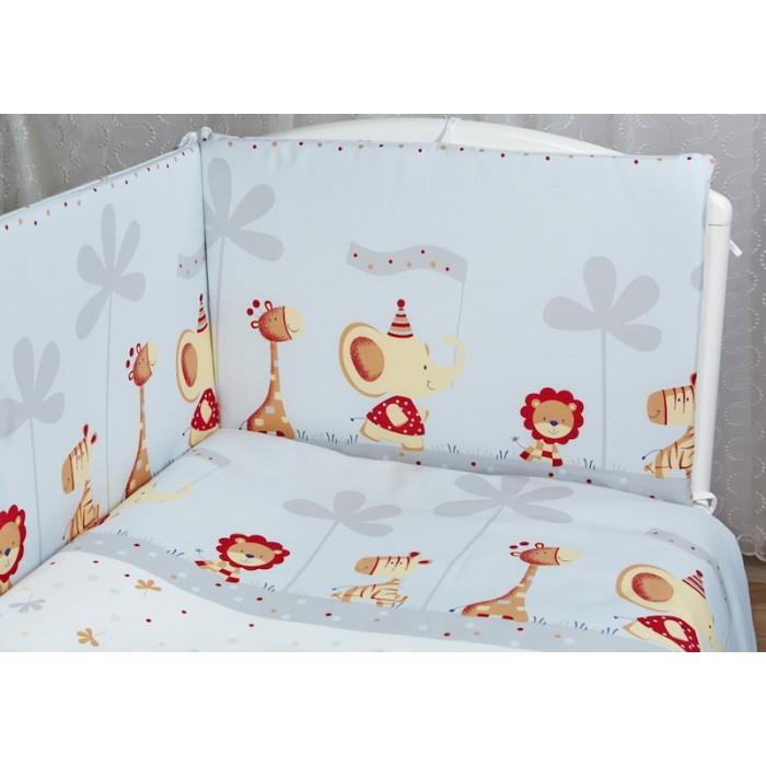 Комплект в кроватку Rabby-baby Отряд зверят