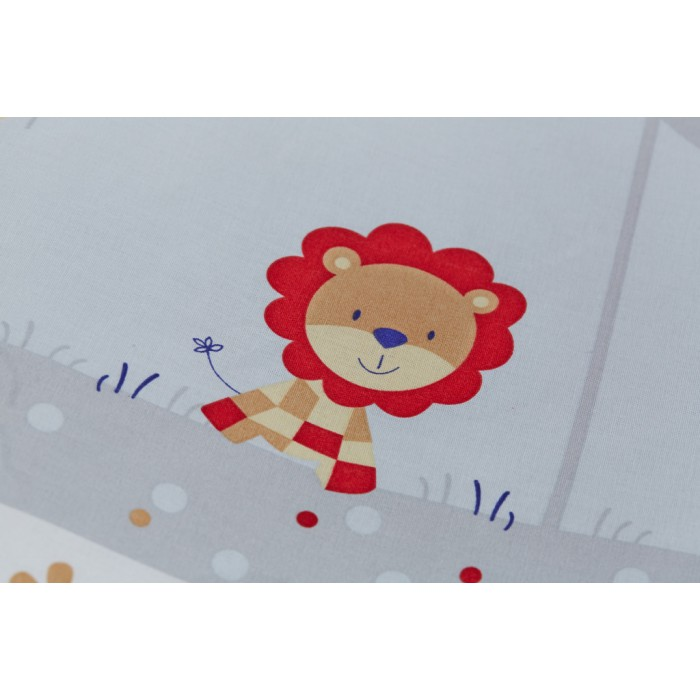 Бортик для кроватки Rabby-baby Отряд зверят
