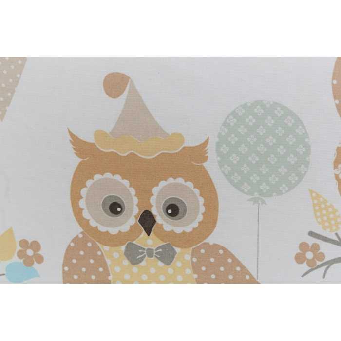 Постельное белье 3 предмета Rabby-baby Совушки