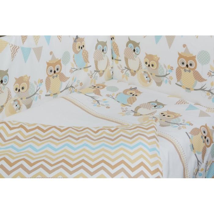 Комплект в кроватку Rabby-baby Совушки