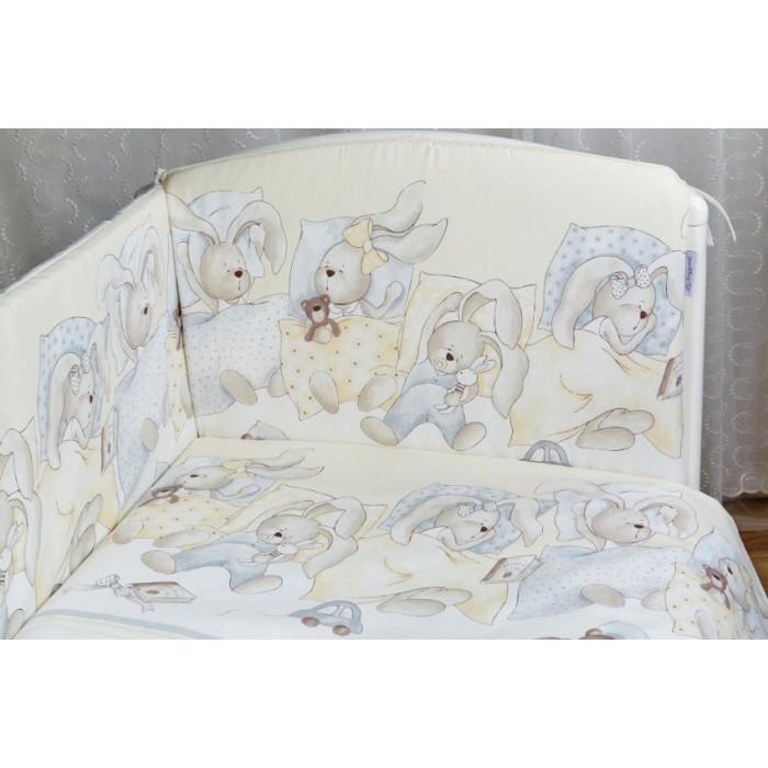 Комплект в кроватку 6 предметов Lappetti Сони 6025