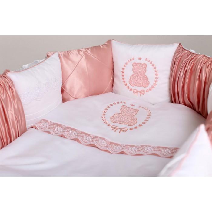 Комплект в круглую кроватку Sweet Teddy арт.6052