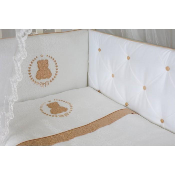Комплект в кроватку 6 предметов Sweet Teddy арт.6055