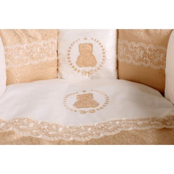 Комплект в круглую кроватку Sweet Teddy арт.6050