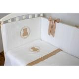 Комплект в кроватку 6 предметов Sweet Teddy арт.6054