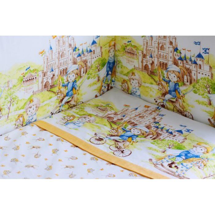 Комплект в кроватку для мальчика Там снятся сказки