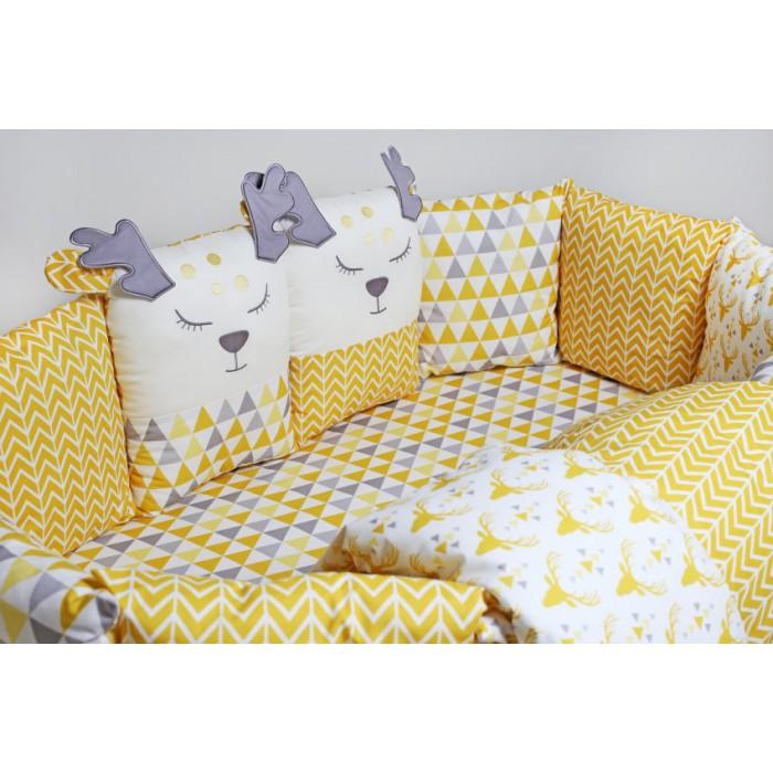 Комплект в кроватку 6 пр. Lappetti Скандинавия арт.6057