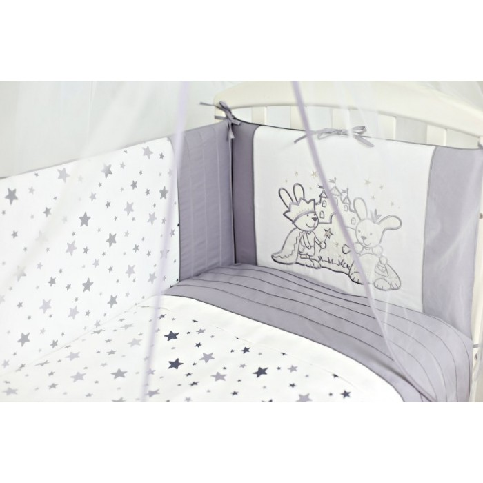 Комплект в кроватку 6 пр. Lappetti Звездочет арт.6062А