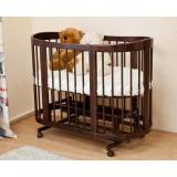 Детская круглая кроватка-трансформер Паулина С 322