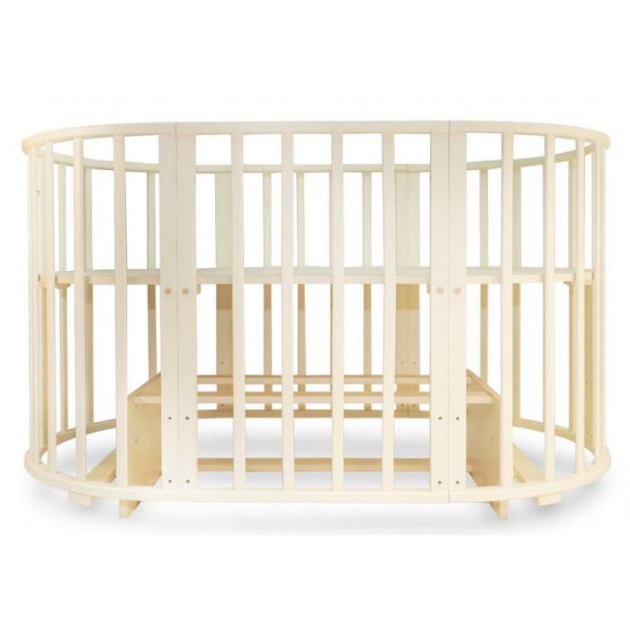Детская круглая кроватка-трансформер Valle Mimi 6 в 1