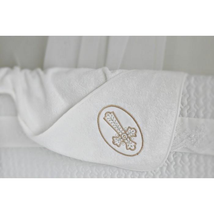 Крестильное  полотенце с уголком махровая Мой ангел арт. К1