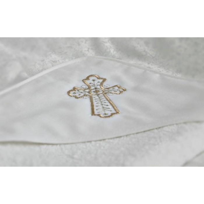 Крестильное полотенце с уголком махровая Мой ангел арт. К2