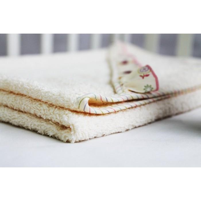 """Махровая пеленка-полотенце с уголком """"Домик для птички"""""""