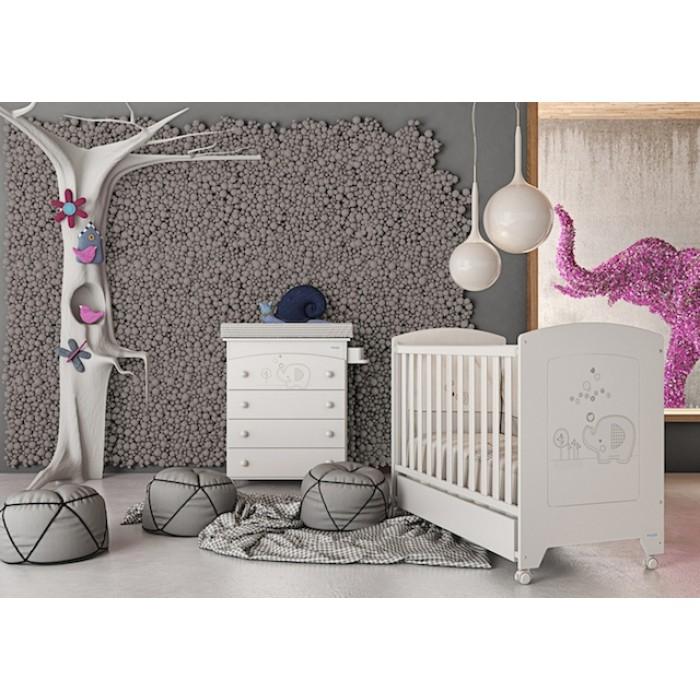 Детская кроватка Micuna Elephant 120x60