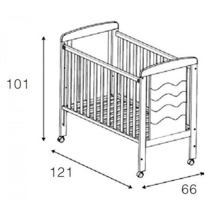 Детская кроватка Micuna Infinity 120х60