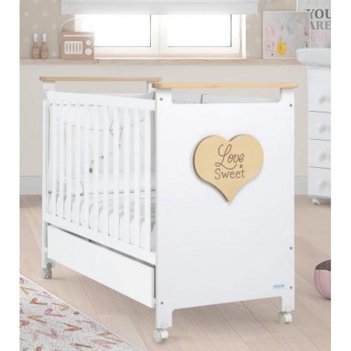 Детская кроватка Micuna Sweet Love 120x60