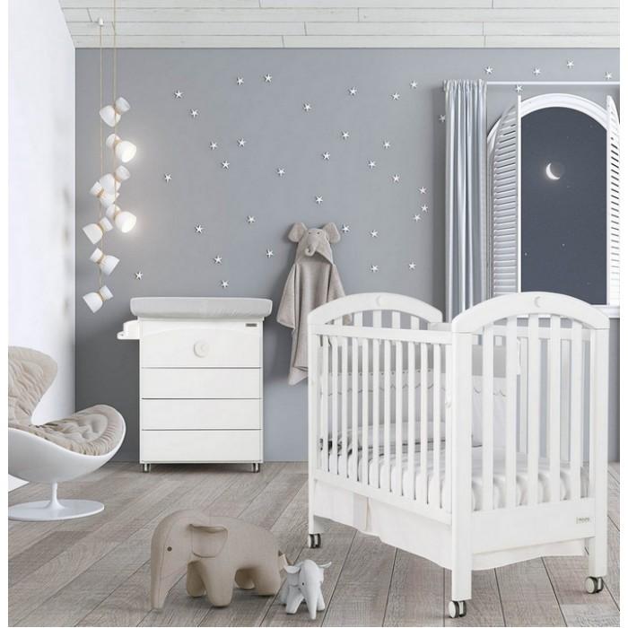 Кровать White Moon Relax с кристаллами Swarovski120х60