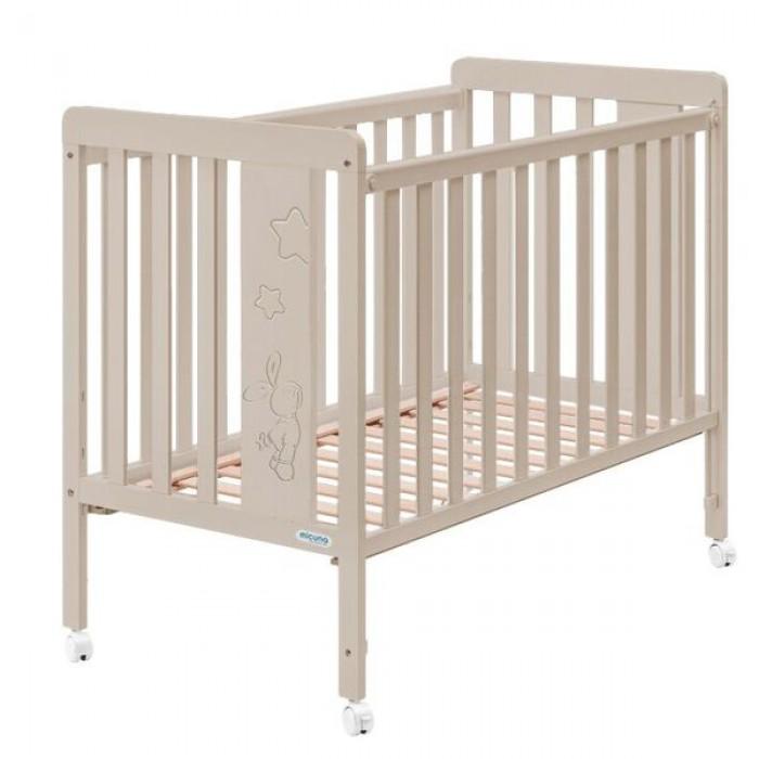 Детская кроватка 120x60 Micuna Rabbit + Матрас СН-620