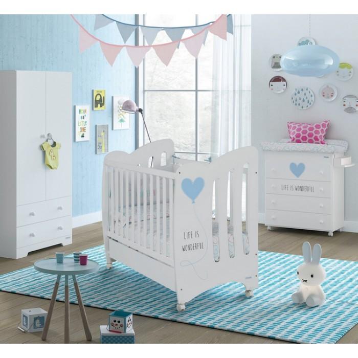 Детская кроватка Micuna Wonderful 120x60
