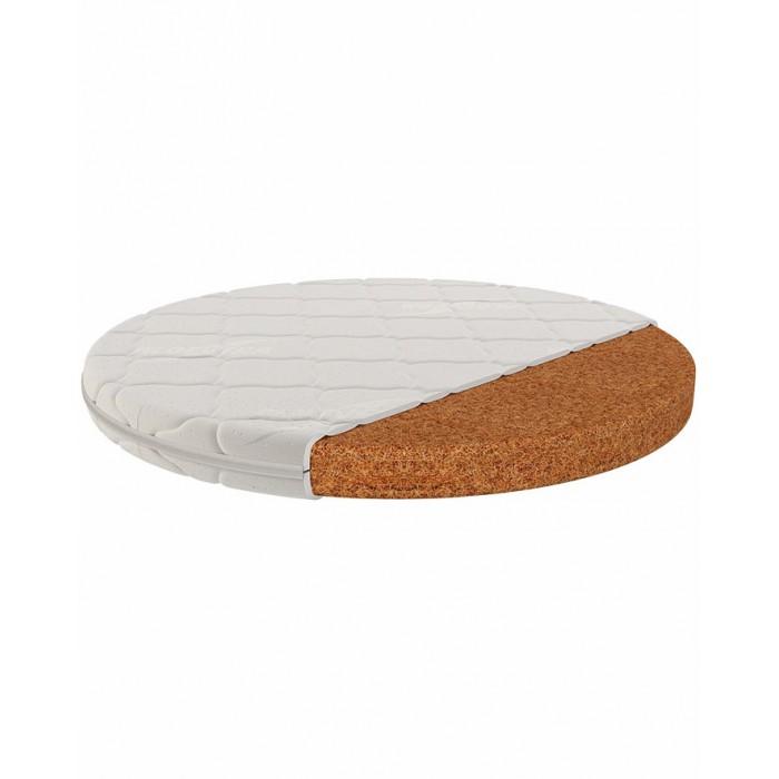Матрас Bio Coir для круглой кроватки 75х75 см