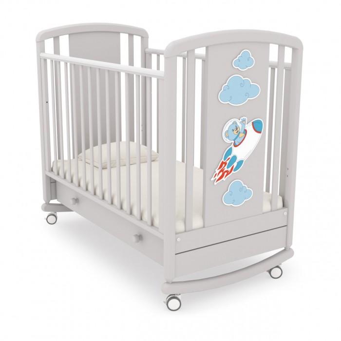 Детская кроватка Angela Bella Жаклин Мишка на ракете