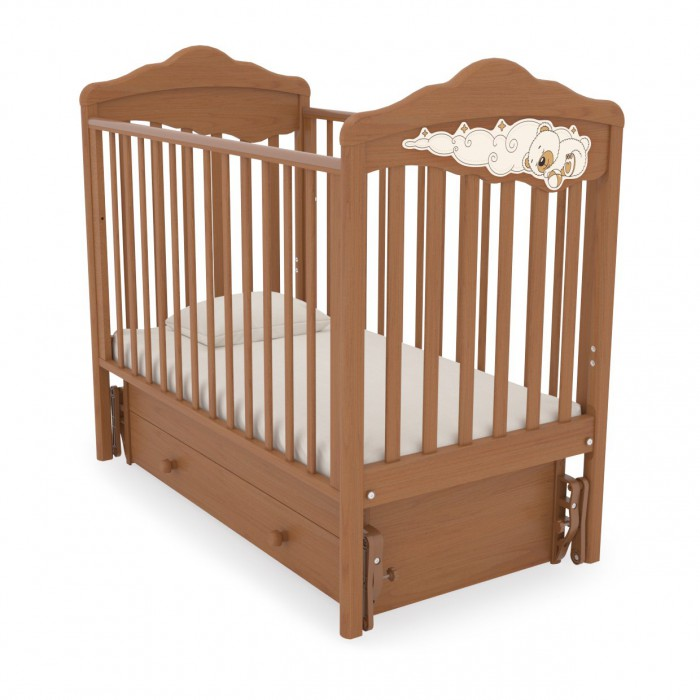 Детская кроватка с универсальным маятником Изабель