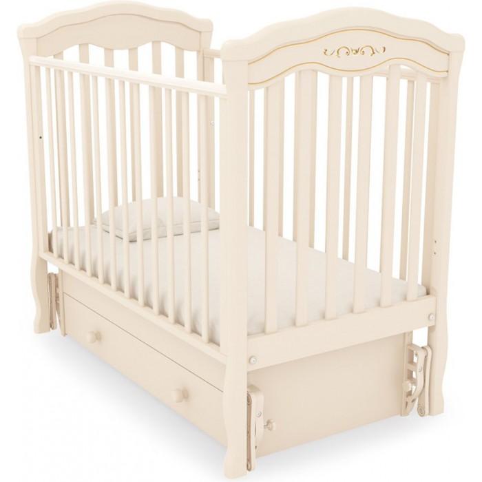 Детская кроватка универсальный маятник Шарлотта Люкс