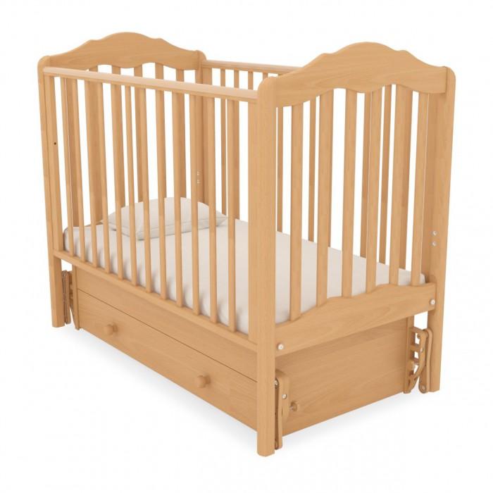 Детская кроватка с универсальным маятником Анастасия