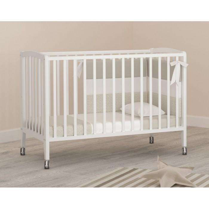 Детская кроватка на колесах Angela Bella Бьянка