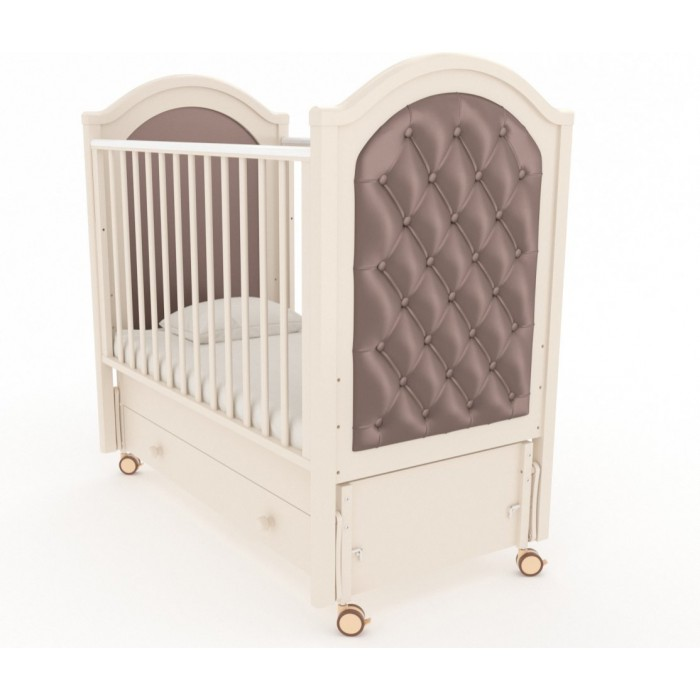 Детская кроватка с продольным маятником Софи люкс