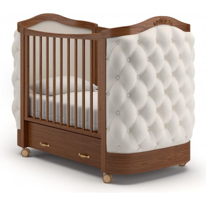 Детская кроватка на колесах Гандылян Тиффани пуговицы