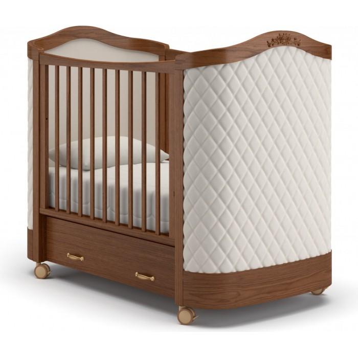Детская кроватка на колесах Гандылян Тиффани ромб