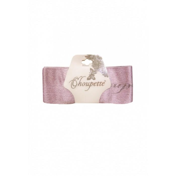 Ленты нарядные на выписку (2шт.), розовый с серебром 205.38
