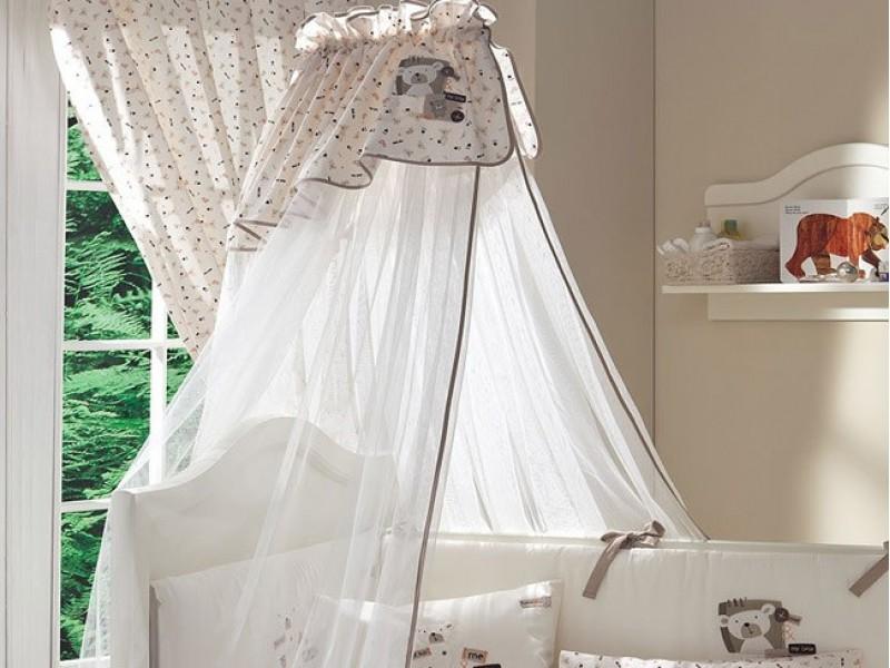 Нужен ли балдахин на детскую кроватку?