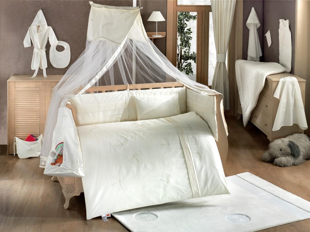 Постельное белье в кроватку - как подобрать и как стирать