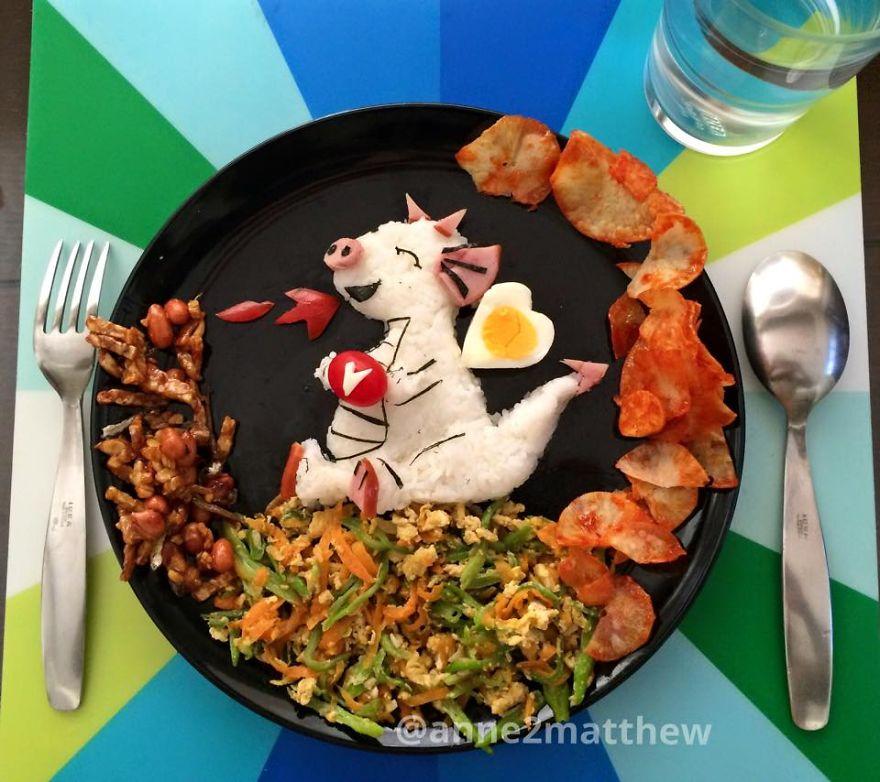 Картинки в тарелке: такие блюда понравятся не только детям